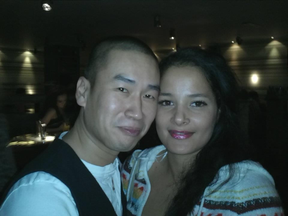 half Jamaican/half English Girl with Chinese Guy